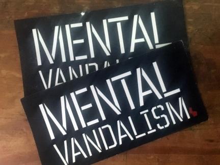 Mental Vandalism Sticker packs