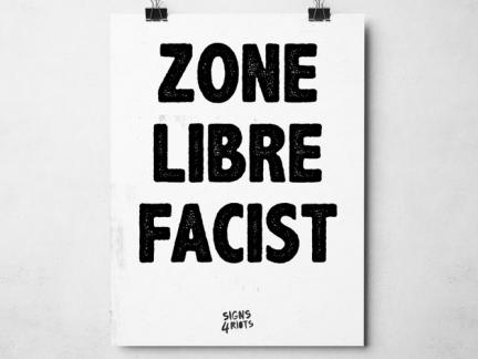 Facist Free Zone
